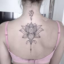 8 best tatuajes images on pinterest flowers spine tattoos and