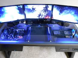 Desk For Computers Pc Mounted Inside Desk Overclock Net An Overclocking Community