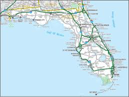 Map Of The State Of Florida by Highways Map Of Florida State Florida State Usa Maps Of The