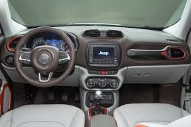 gray jeep renegade interior rent a jeep renegade europcar belgium