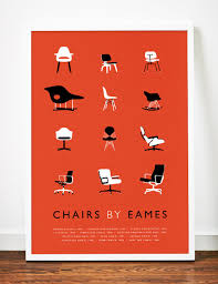 Items Similar To Art Print - eames poster art print mid century modern by weaversofsouthsea