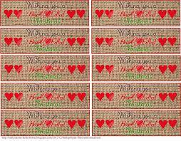 printable napkin rings hollyshome family burlap heart filled christmas printables