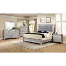 glass bedroom set wayfair