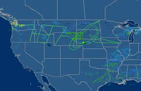 seattle map test wow test pilots trace 787 and boeing logo across the sky from