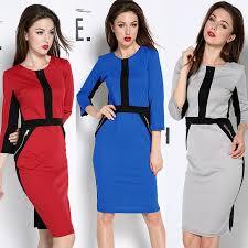 brand new work dress hit color long sleeve formal celeb bodycon