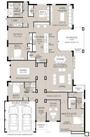 4 Bedroom Floor Plans For A House 76 Best L Shape House Plans Images On Pinterest House Design