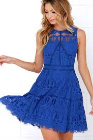 blue lace dress cobalt blue dress lace dress 115 00
