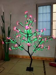 compare prices on artificial outdoor trees online shopping buy 1 5m 5ft height outdoor waterproof artificial christmas tree light 480pcs leds pink flower