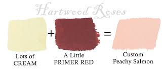 hartwood roses mixing custom chalk paint colors
