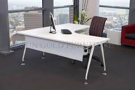 unusual design ideas white executive office desk white modern