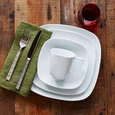 Sur La Table Placemats Modern 16 Piece Dinnerware Set Sur La Table