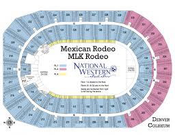 Red Rocks Seat Map Ticket Information National Western Stock Show And Rodeo