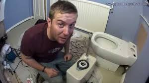 how to remove and install a toilet plumbing tips youtube