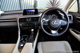 lexus wagon interior 2016 lexus rx 200t review video performancedrive