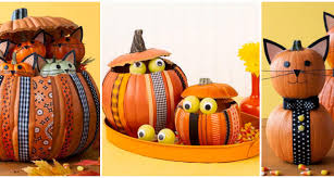 Thanksgiving Pumpkin Decorations 3 Awesome Thanksgiving Pumpkin Crafts