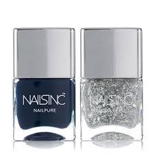 nails inc 2 piece midnight sky duo qvc uk