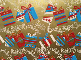 vintage gift wrap vintage gift wrapping paper birthday presents in gold