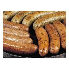 gourmet sausage gourmet sausage sler 1 1 2 lbs each variety nueske s
