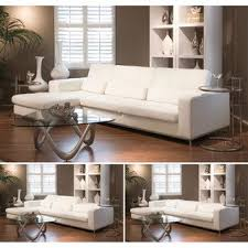 Sectional Sofa White Best 25 White Leather Sectionals Ideas On Pinterest White