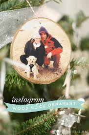 25 heartwarming diy photo ornaments to craft for