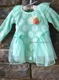 Little Girls Clothing Stores Girls Tunic Girls Aqua Shirt Aqua Dress Girls Lace Shirt Girls