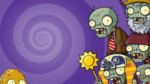 halloween background 1366x768 plants vs zombies wallpaper qige87 com