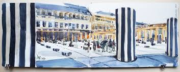 lidl strasbourg siege how sculpture becomes the frame of my painting sketchers