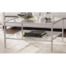 wayfair square coffee table silver square coffee tables you ll love wayfair