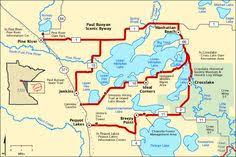 americas byways gunflint trail scenic byway map america s byways