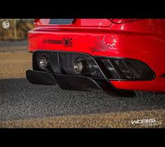 2016 maserati granturismo rear liberty walk lb performance maserati granturismo rear diffuser