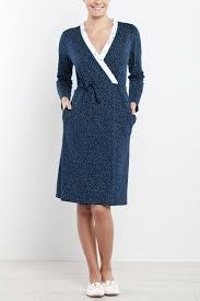 robe de chambre femme coton le peignoir en coton nuit robes de chambre chemises de nuit