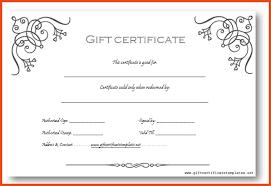 gift voucher samples gift certificate templates word business gift certificate template
