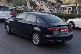 audi a3 in india price audi a3 sedan spied yet again in mumbai