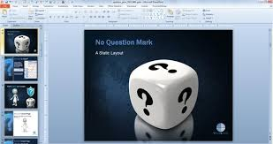 powerpoint presentations awesome questions u0026 answers powerpoint