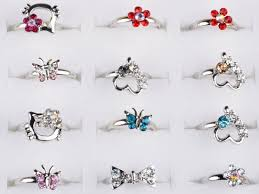 small rings design images Wholesale mix lot 100pcs silver plated assorted design crystal jpg