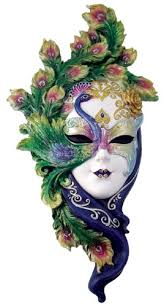 mardi gras wall masks mardi gras and crafts with peacock decorations peacock mask