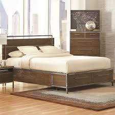 Eastern Accents Bed Coaster Furniture 203801ke Arcadia Eastern King Bed In Weathered