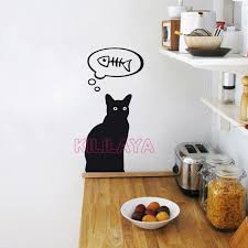 stiker cuisine cat stickers cuisine vinyl wall sticker removable wall decals