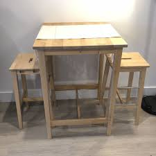 ikea high top table ikea high top table and stools matching set furniture in