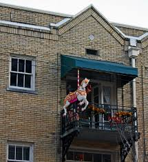 download christmas apartment balcony decorating ideas
