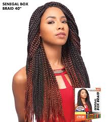 extension braids senegal box braid 40 sensationnel crochet braiding hair