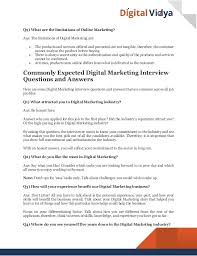 interview questions for marketing job 20 interview questions gse bookbinder co