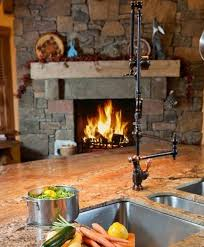 kitchen faucets touchless ell kitchens best 25 rustic kitchen faucets ideas on rustic