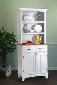 White Sideboard With Glass Doors by Sideboards Glamorous White Kitchen Hutch Cabinet White Kitchen