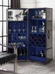 Glass Bar Cabinet Sophisticated Bar Cabinets That Pack A Designer Punch