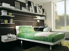 teen bedroom decoration with awesome look amaza design elegant twin bed and wall design for masculine teen room decorating ideas with green fluffy rug