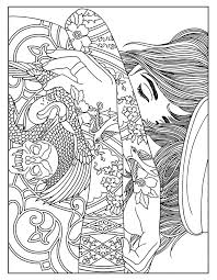 tattoo coloring pages 1353