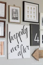 Diy Paintings For Home Decor Diy Canvas Script Art Love Grows Wild