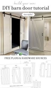 how to make your own barn door hardware diy barn door plans u0026 tutorial march doors and tutorials