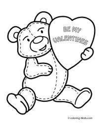 free valentine coloring pictures print coloring pages